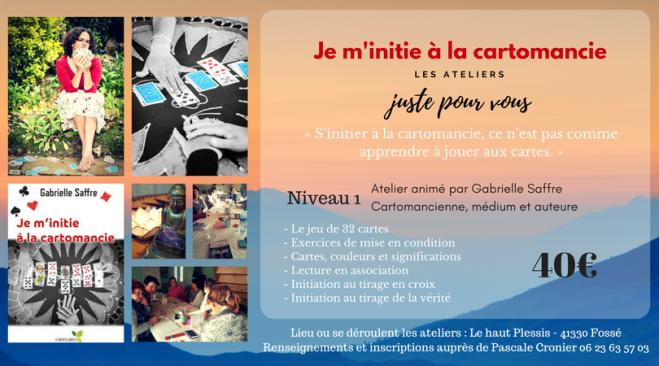 Je m'initie à la cartomancie - Gabrielle Saffre (1)